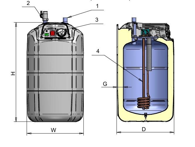 5 10 15 l liter warmwasserspeicher boiler bertisch untertisch mischbatterie ebay. Black Bedroom Furniture Sets. Home Design Ideas