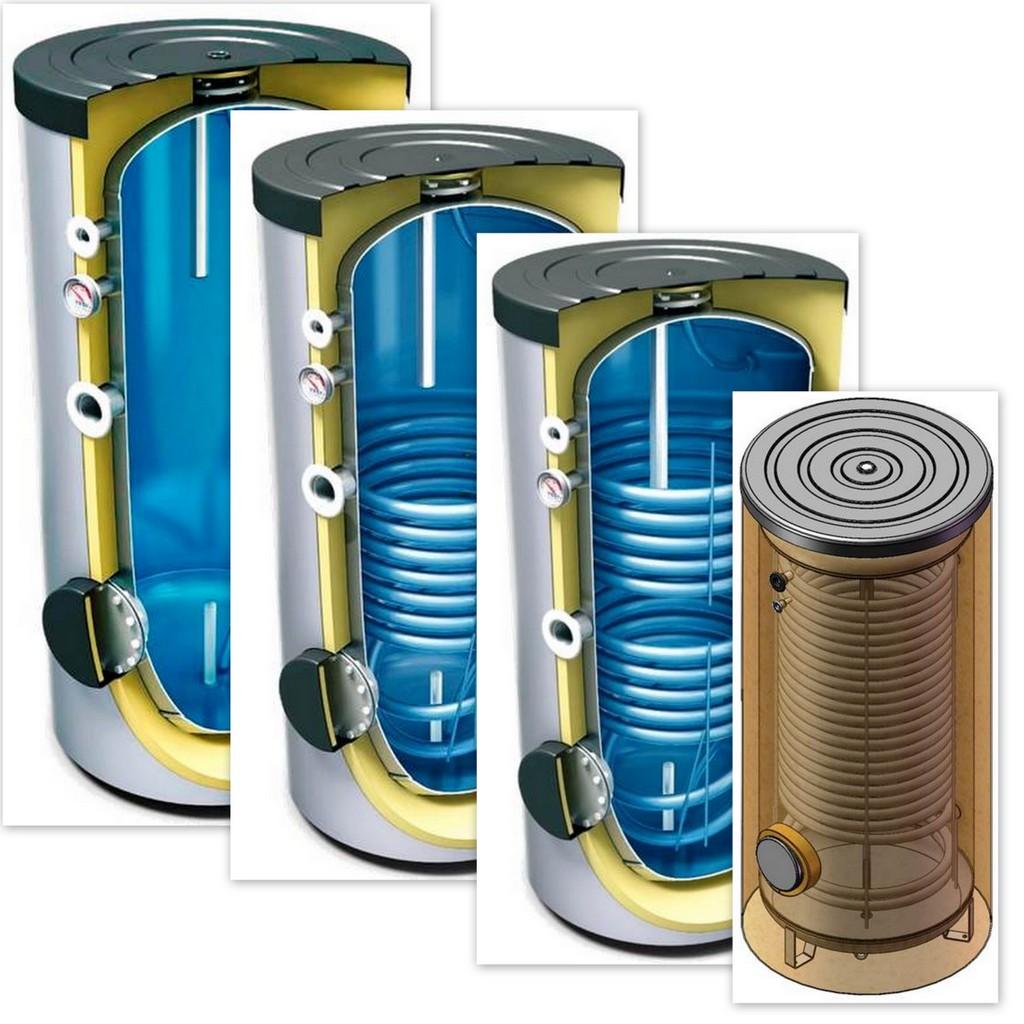 300 400 500 l liter warmwasserspeicher maxi w rmetauscher w rmepumpenspeicher ebay. Black Bedroom Furniture Sets. Home Design Ideas